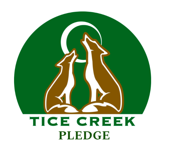 Tice Creek Pledge