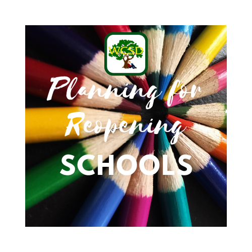 Reopening of Schools Update